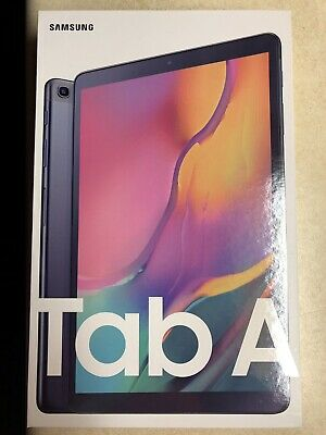 "NEW Samsung 10.1"" Galaxy Tab A 128GB Black SM-T510NZKGXAR 2019 Model"