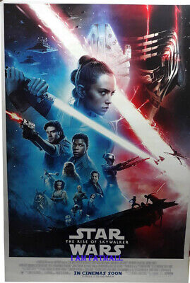 Star Wars Ep 9 The Rise of Skywalker original Int'l 27x40 DS POSTER double side
