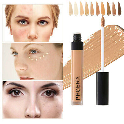 AUTHENTIC PHOERA Full Coverage Concealer Foundation Longlasting Moisturizing QV