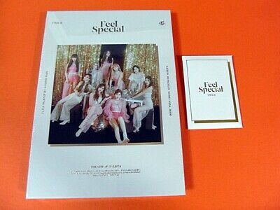 TWICE - Feel Special (A Ver.) CD w/Booklet +6 Photocard+ Pre-Order Benefit K-POP