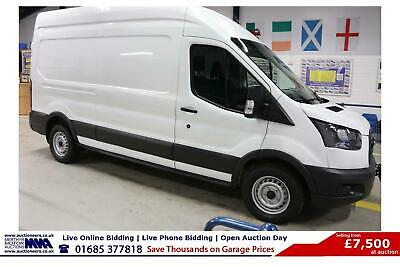 2016 - 66 - Ford Transit T350 2.0Tdci 130Ps Fwd Lwb High Top Van (Guide Price)