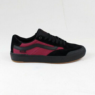 Vans Berle Pro Punk Trainers Shoes Brand New in Black/Red UK Sizes 7,8,9,10,11