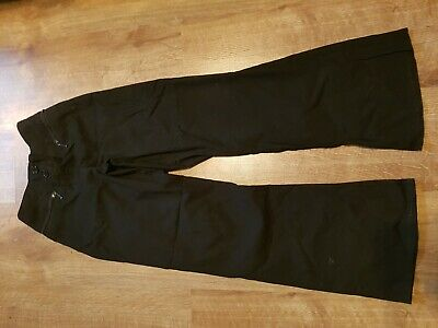 Girls school trousers age 10 marks and Spencer black