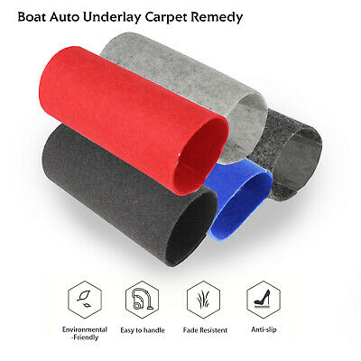"78""W Cut-pile Underfelt Cabin/Trunk Liner Carpets Upholstery Dustproof Re-cover"