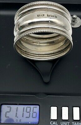 Antique English R&W Sterling Silver  Napkin Ring 21g