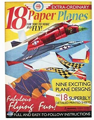 House of Marbles Paper Airplane Kit - Includes 18 Paper Airplanes
