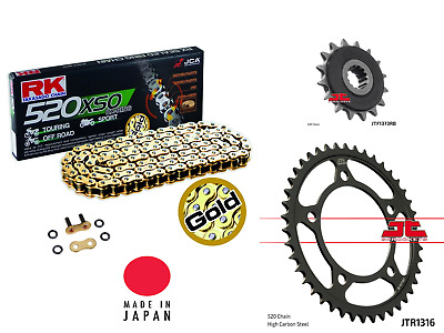 RK 7083-110E OEM Replacement Chain and Sprocket Kit Natural