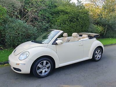 Volkswagen Beetle 1.6 Luna - Convertible - 2 Door - 2006 - Beige **Low Miles**