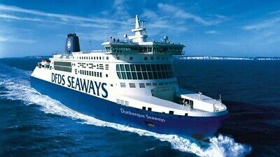 Ferry ticket Dover-Calais-Dunkirk or back, single, fully flex, lounge access