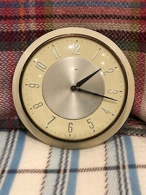 Vintage Retro Mid-Century Metamec Kitchen Wall Clock - Wired