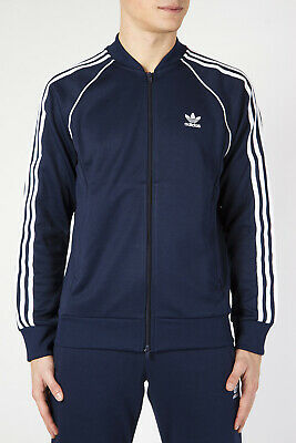 ADIDAS ORIGINALS GIACCA Felpa Collo A Bomber Full Zip Track