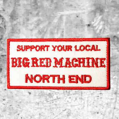 "Support 81 Aufnäher Patch ""SYL BIG RED MACHINE NORTH END"" HAMC North End"