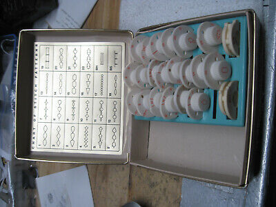 Montgomery Ward Urr 292 Set 22 Of 24 Stitch Pattern Cams Disc Cogs Signature