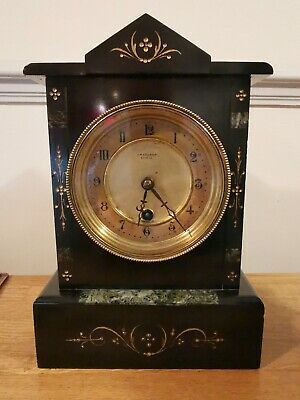 Late 19th - Early 29th Century Marble Timepiece