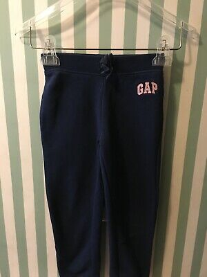 Baby Gap Jogger Sweatpants Girls Navy Blue Bottoms Pants Size 5 years