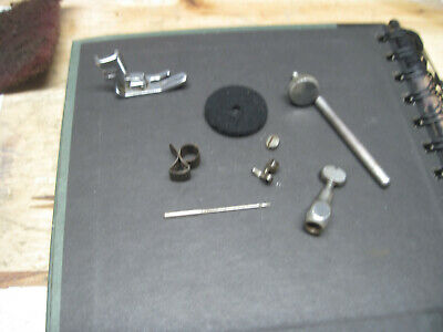 Singer Sewing Machine 15-91 Needle Clamp & Thread Cutter 1 Spool Foot Vintage