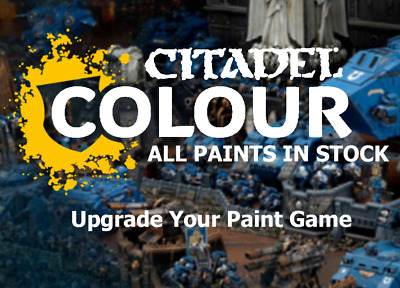 Citadel Paint - All in Stock - Volume Discounts - Layer, Shade, Base, etc...