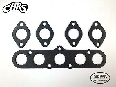 Dodge//Plymouth 201 218 230  1935-51 Full Gasket Set Plus Rubber Rear Main Seal