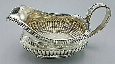 Antique J. E. Caldwell And Co. Sterling Silver Gravy Or Sauce Boat