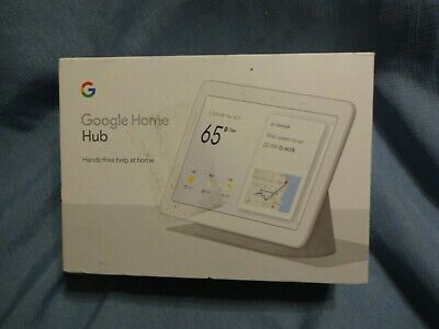 Google Home Hub with Google Assistant- Chalk- GA00516-US- FREE SHIPPING