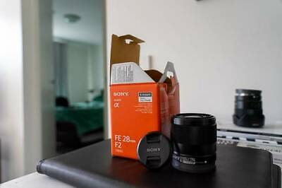 Sony FE 28mm f2 (sel28f20) LIKE NEW WITH BOX