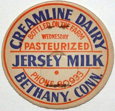 Columbiana County,Salem,Ohio milk cap,Zimmerman Jersey Creamline w//Gold Full Cow
