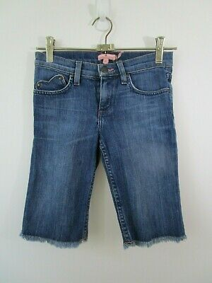 Juicy Couture Girl's Size 12 Denim Cropped Jeans