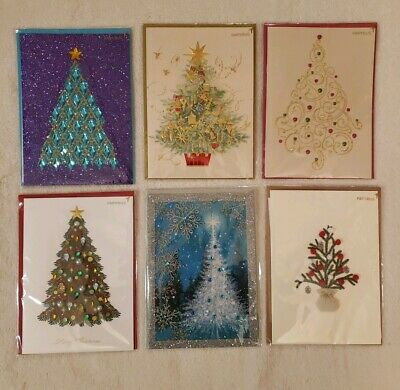 Handmade Religious PAPYRUS Greetings Cards Christmas Lot of 6 Traditional