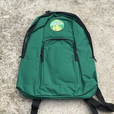 """JAMES BOAGS DRAUGHT """"Green"""" Awesome Promotional Beer Brewery Backpack Carry Bag"""