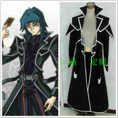 Yu-Gi-Oh GX Zane Truesdale suit uniform cosplay Costume custom made HH.1502