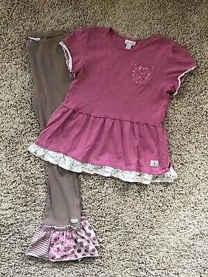 Naartjie Girls Outfit. Top And Pants. Size 9-10 Years