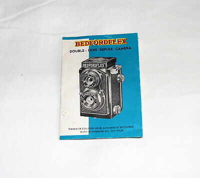 Good condition Bedfordflex camera instruction leaflet.