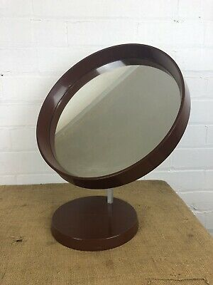 Vintage Mid Century Danish Dressing Table Mirror by Termotex