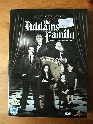 The Addams Family Volume One 3 Disc  1964-5/2007 DVD 539 Minutes John Astin
