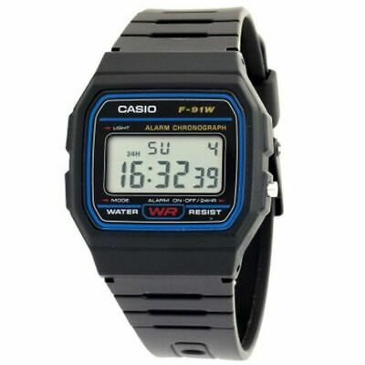 CASIO F91W Digital LCD Watch with Chrono, Alarm 100% AUTHENTIC RETAIL PACKED Pro