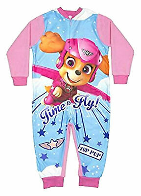 Girls Paw Patrol All in One Sleepsuit  - Official Licensed Merchandise