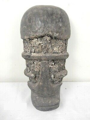 """African Art Bete Mask from Ivory Coast 19"""" Tall"""