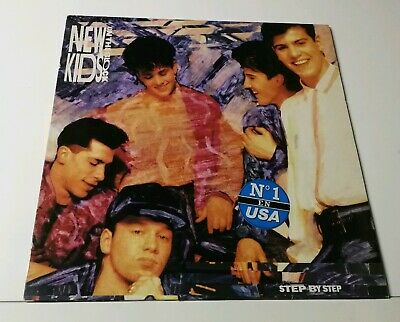 New Kids On The Block -  Step By Step - Lp - Made In Spain!!!