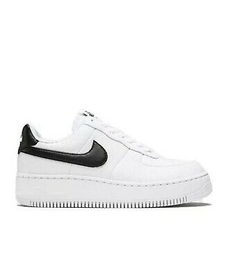 Donna nike Air Force 1 Upstep Scarpe Sportive Nere AV8222