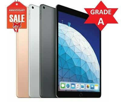 Apple iPad Air 3rd Generation Wi-Fi, 10.5in - 64GB 256GB - Gray Silver Gold (A)