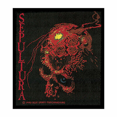 Sepultura Men's Woven Patch Black