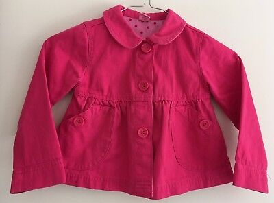 Adams Girl Bright Pink Jacket Size 3 Years