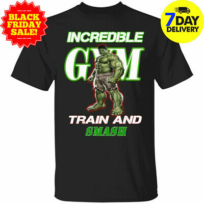 Hulks Gym Mens Vest Training Top Bodybuilding MMA Fitness The Incredible Tee