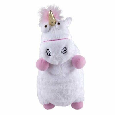 "Despicable Me Jumbo Plush Super Fluffy Agnes's Unicorn 24"" White US Stock"