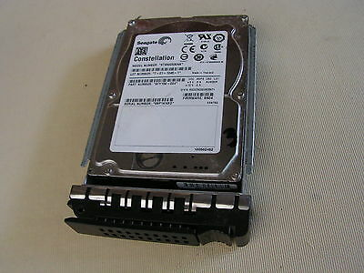 "9FY156-004 Seagate 500GB 7.2K 2.5"" HDD w/ caddy from Citrix NetScaler MPX 17500"