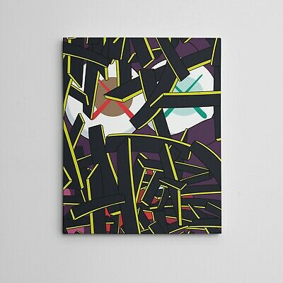 """16X20"""" Gallery Art Canvas: Brian Donnelly Paper Smile By KAWS NY Urban Graffiti"""