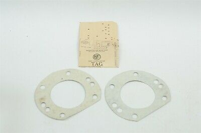 47-50 Kaiser Frazer Outer Rear Seal Gasket LOT of 2 KF 200435 NOS