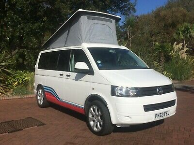 2013 VW T5 Transporter Pop Top 4 berth Campervan with M1 Tested Seatbed