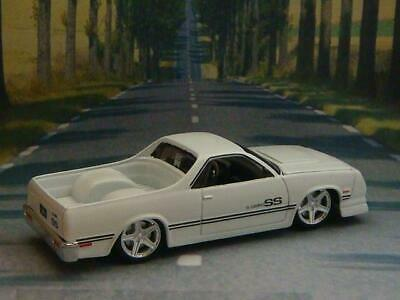 RESTO MOD 1987 Chevrolet El Camino SS V-8 Super Sport 1/64 Scale Limited Edit I