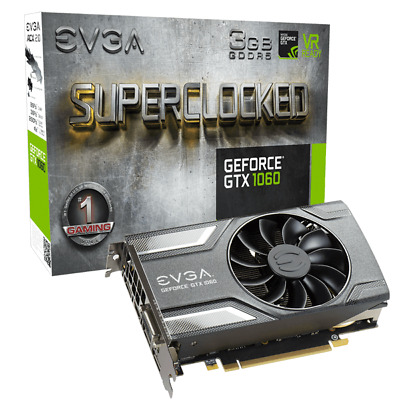 Geforce GTX 1060 EVGA SUPERCLOCKED